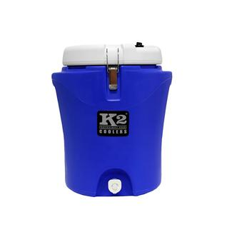 K2 Summit 5 Gallon Water Jug, Blue and White