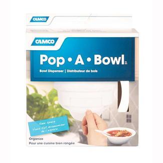 Pop-A-Bowl, White