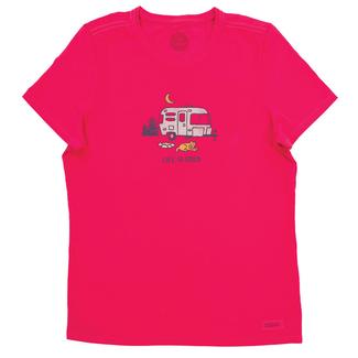 Life is Good Women's Camper Crusher Tee, XLarge