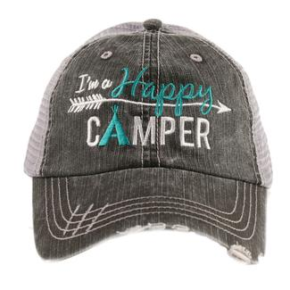 This trucker hat is perfect for those weekend camping trips!