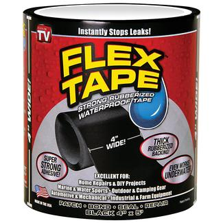 "Flex Tape, 4"" Black"