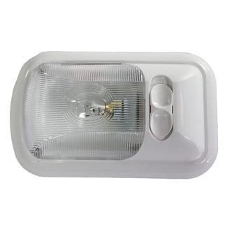 Single Incandescent Euro Light with Optic Lens