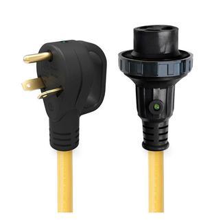 25&rsquo&#x3b; 30 Amp Detachable Power Cord with Handle &amp&#x3b; Indicator Light