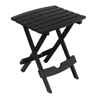 Quik-Fold Side and Tag Along Table Set, Black