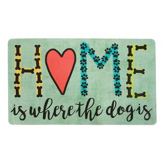 Mat, Home Is Where the Dog Is Design, 18