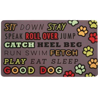 Mat, Dog Commands Design, 18
