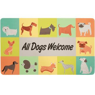 All Dogs Welcome Mat, 18