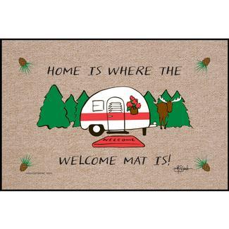 Home Is Where You Park It Door Mat, 18