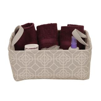 Decorative Canvas Storage Bins, Small