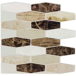 Peel and Stick Mosaics, Great Sands- 5 Pack