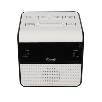 FM Clock Radio with USB Charging