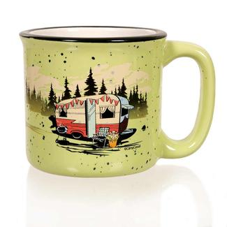 Camp Casual Mug, Green