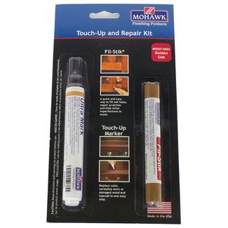 Wood Touch Up & Repair Kit, Golden Oak