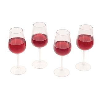 Shatterproof Wine Glasses, Set of 4