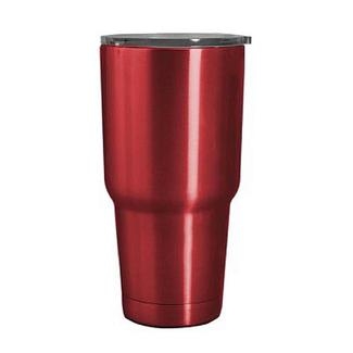 Red Stainless Steel Tumbler, 30 oz.