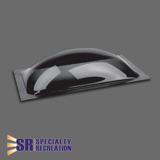 "Thermoformed Polycarbonate 15"" x 18"" RV Skylight, Smoke"