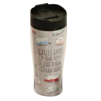 Feels Good to be Lost, Insulated Coffee Tumbler, 15 oz.