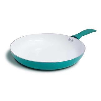 "Vivid Fry Pan, Green 12"" dia."
