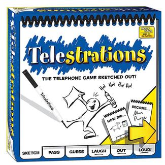 Telestrations Game
