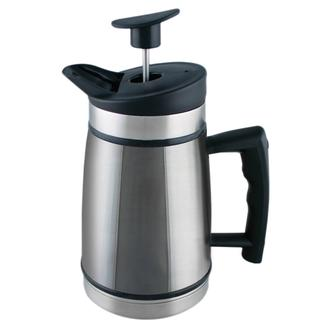 Table Top French Press, 20 oz, Brushed Steel