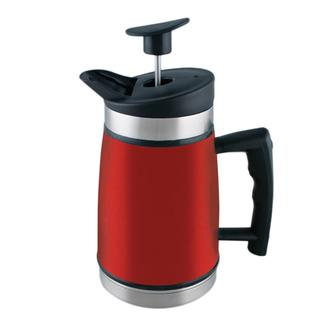 Table Top French Press, 20 oz., Candy Apple Red