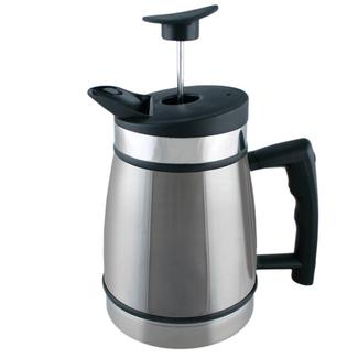 Table Top French Press, 32 oz., Brushed Steel