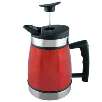 Table Top French Press, 32 oz., Candy Apple Red