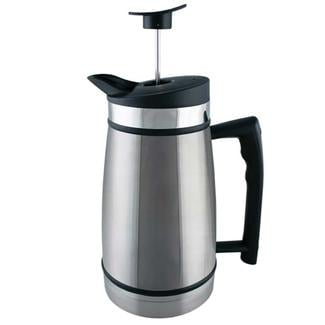 Table Top French Press, 48 oz., Brushed Steel