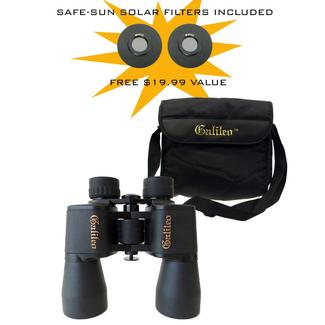 Galileo Terrestrial and Astronomical Binocular and Case, 12x50mm