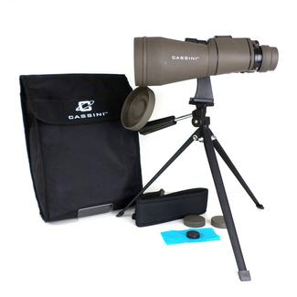 Cassini Zoom Binocular and Tripod, 10-30x60mm