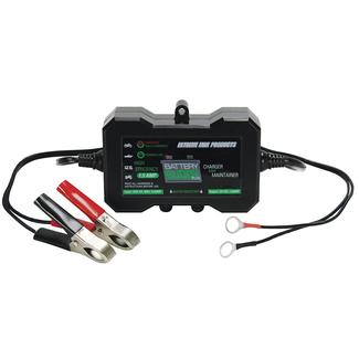 Extreme Max Battery Buddy PLUS Onboard Water Resistant Battery Charger/Maintainer, 12V