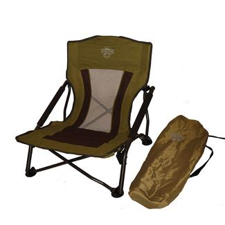 Crazy Legs Quad Beach and Festival Chair, Olive Green