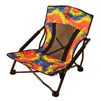 Crazy Legs Quad Beach and Festival Chair, Tie-Dye