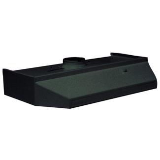Ventline PH Series Range Hood, 12&quot&#x3b; x 20&quot&#x3b;, Black