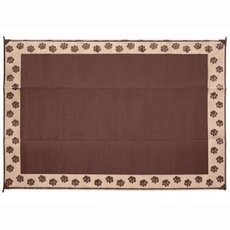 Direcsource Ltd Pet Patio Mat, 9' x 12', Brown/Tan