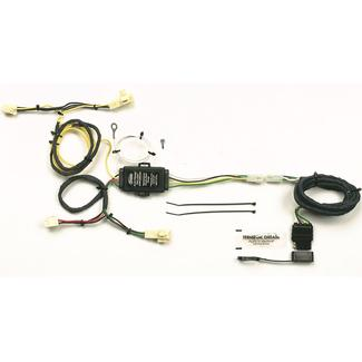 Plug-In Simple! Towing Vehicle Wiring Kit for Toyota 4-Runner, 4-Way Flat
