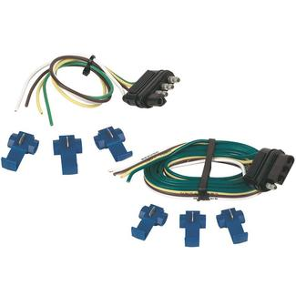 4-Way Flat Connector Set with Splices, 48