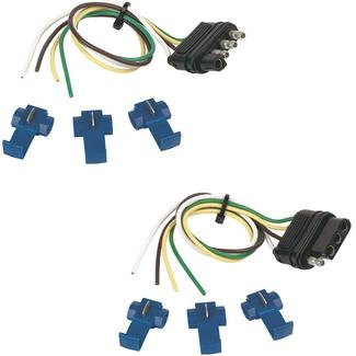 4 Flat Connector Kit with Splices, 12