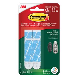 Command Outdoor Refill Strips