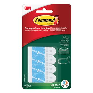 Command Outdoor Refill Strips, Small