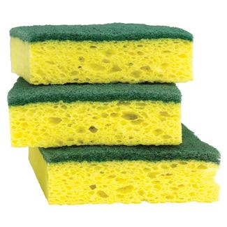Scotch-Brite Heavy Duty Scrub Sponge, 3 Pack