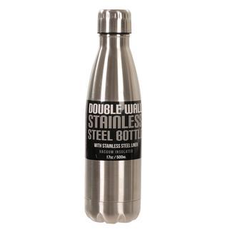 Stainless Steel Bottle, 17 oz, Steel