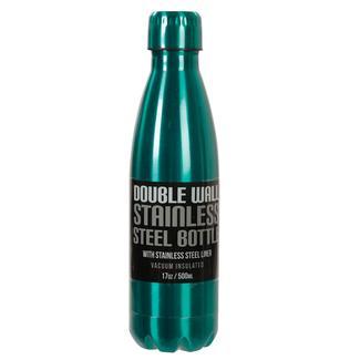 Stainless Steel Bottle, 17 oz, Emerald