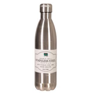 Stainless Steel Bottle, 25 oz, Steel