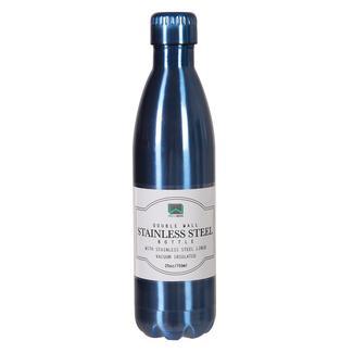 Stainless Steel Bottle, 25 oz, Blue