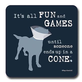 Fun and Games Dog Coaster
