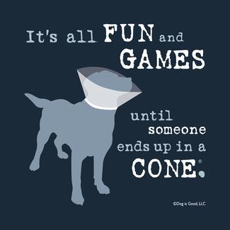 Fun and Games Dog Coasters