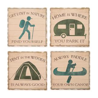 Camping World Coasters – 4 Pack