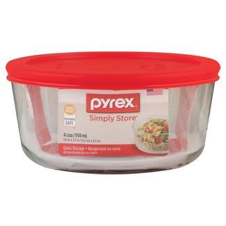 Pyrex Storage Plus 4-Cup Round