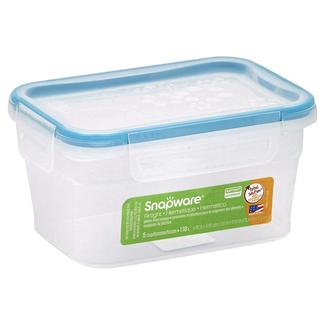 Snapware Total Sol Plastic 5 cup Small/ Medium Rectangle